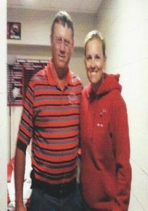 Freddie Kirby and Western Kentucky Softball Coach Amy Tudor