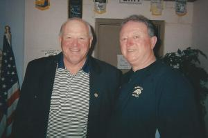 UNA Football Coach Bobby Wallace and Glen Jackson