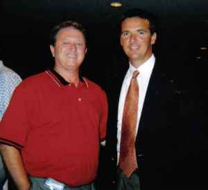 Glen Jackson and 2x FBS National Champion Urban Meyer