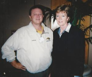 Glen Jackson and HOF Coach Pat Summit
