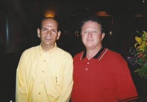 Radio Personality Paul Finebaum and Glen Jackson